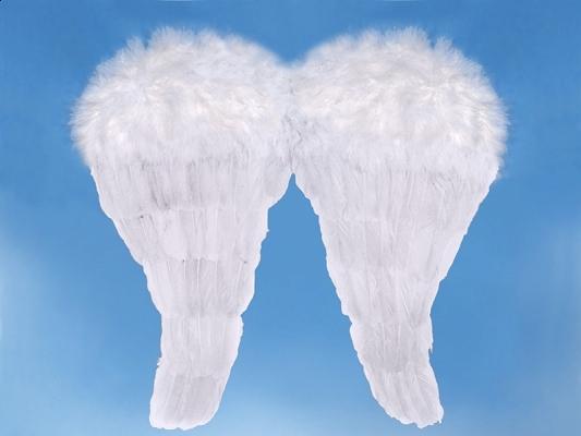 Anjelské krídla - biele