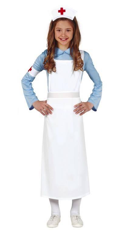 Guirca Detský kostým - Sestrička z druhej svetovej vojny Veľkosť - deti: S