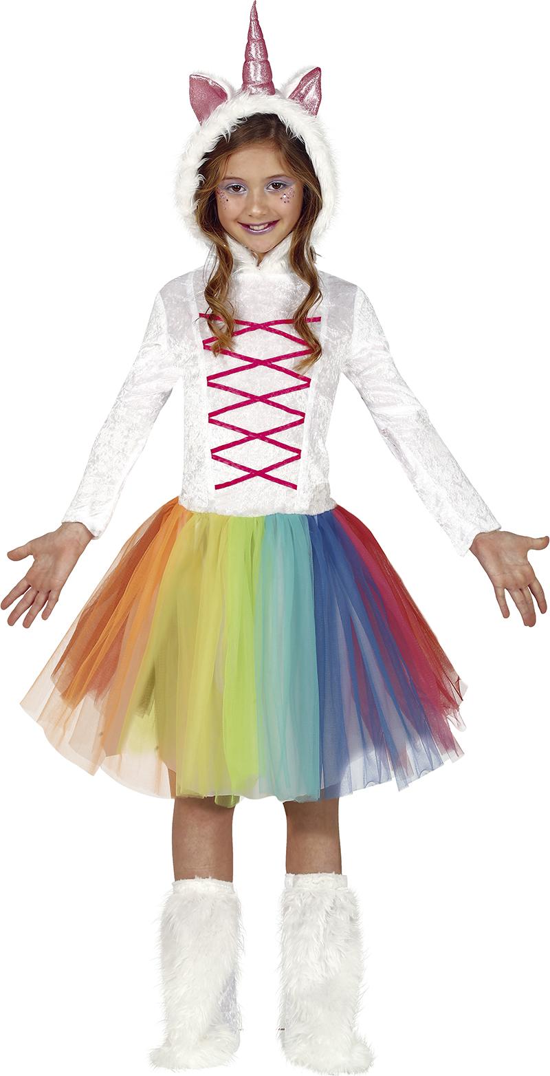 Guirca Detský kostým - Jednorožec farebný Veľkosť - deti: S