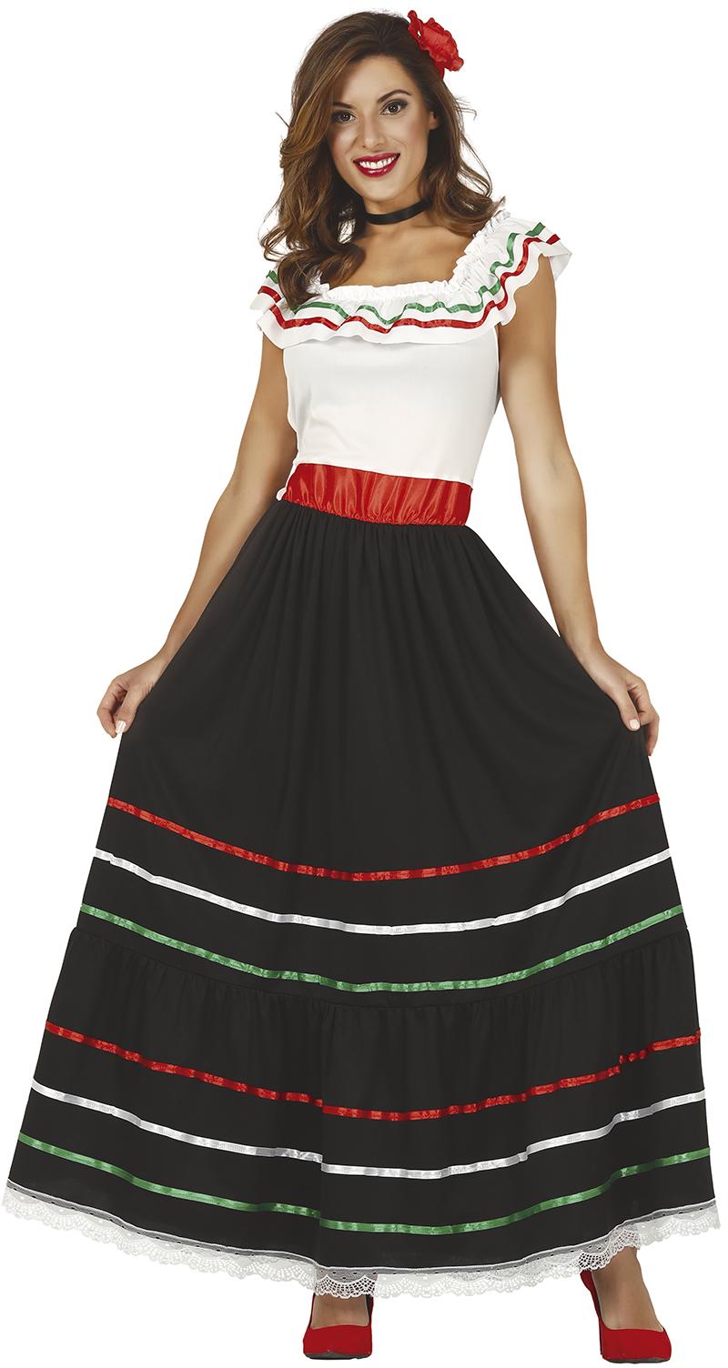 Guirca Dámsky kostým - Mexičanka Veľkosť - dospelý: M