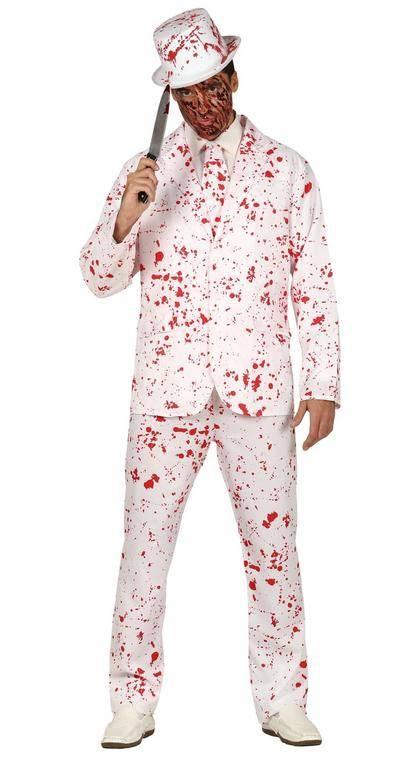 Guirca Pánsky kostým - Krvavý oblek Veľkosť - dospelý: M