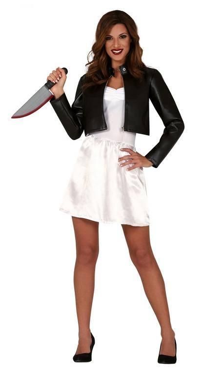 Guirca Dámsky kostým - Vražedná bábika Veľkosť - dospelý: M