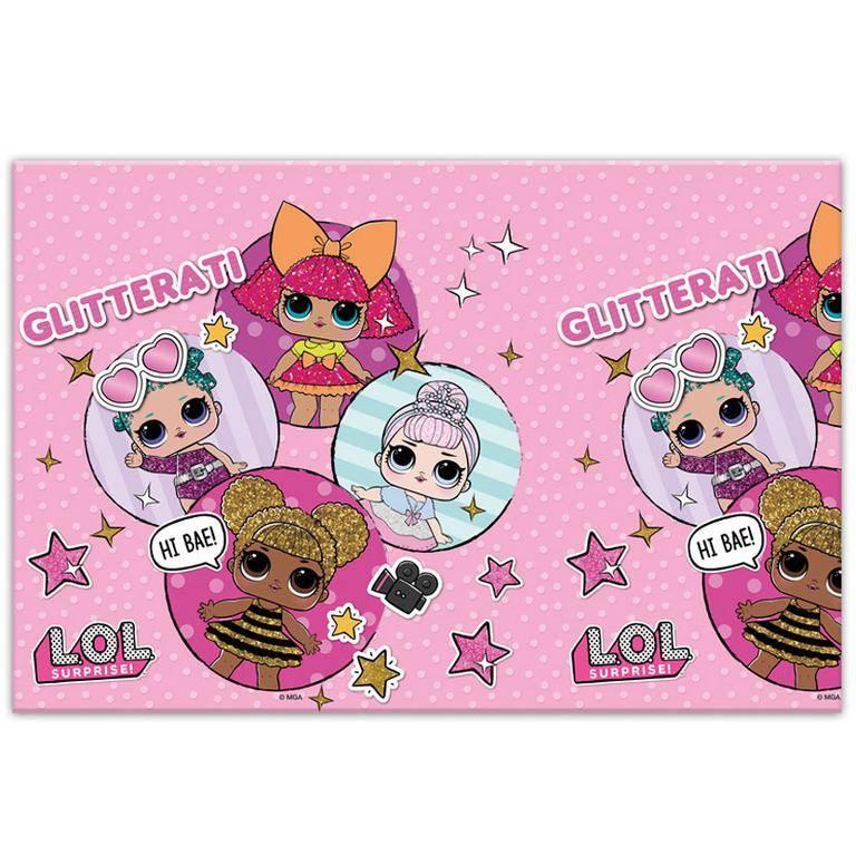 Procos Obrus - LOL Glitterati 120 x 180 cm