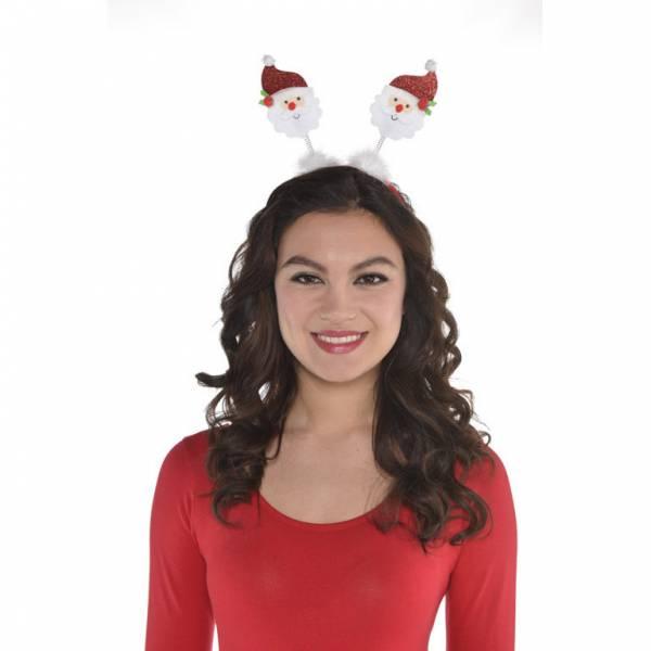 Vianočná čelenka - Santa Claus
