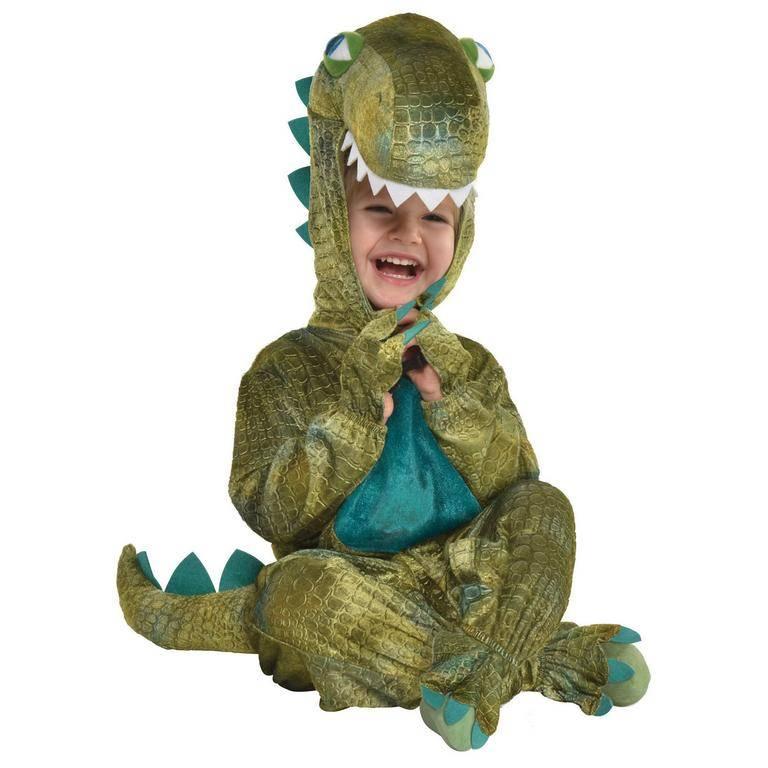 Amscan Kostým pre najmenších - Dinosaurus Veľkosť.: 6 - 12 mesiacov