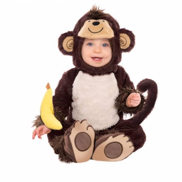 Amscan Kostým pre najmenších - Opička Veľkosť.: 12 - 18 mesiacov