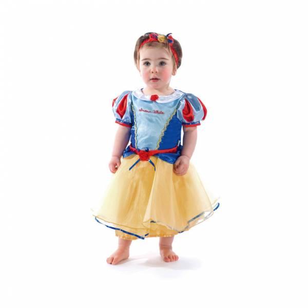 Amscan Kostým pre najmenších - Snehulienka premium Veľkosť najmenší: 18 - 24 mesiacov