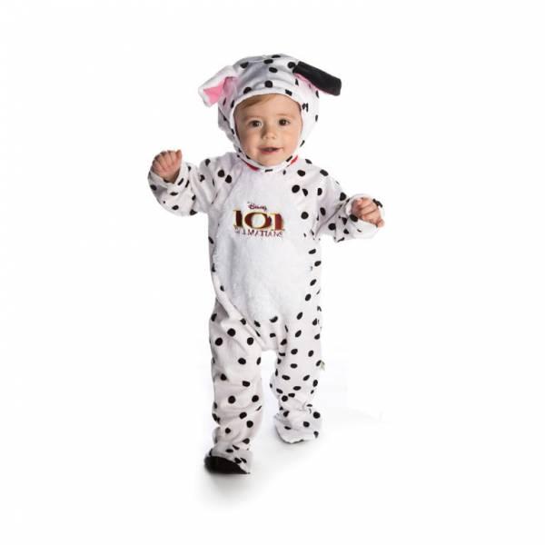 Amscan Kostým pre najmenších - Dalmatín Veľkosť najmenší: 12 - 18 mesiacov