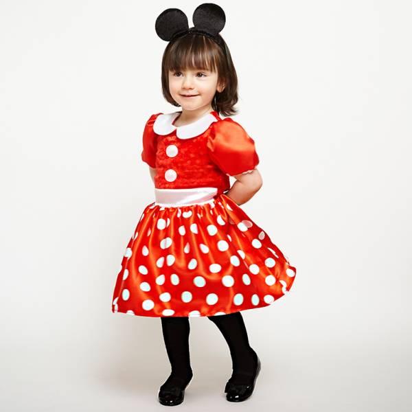 Amscan Kostým pre najmenších - Minnie Veľkosť.: 3 - 6 mesiacov