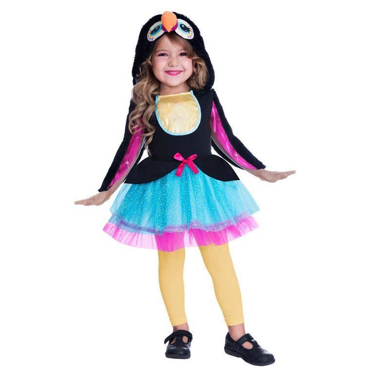 Amscan Detský kostým - Roztomilý tukan Veľkosť - deti: S