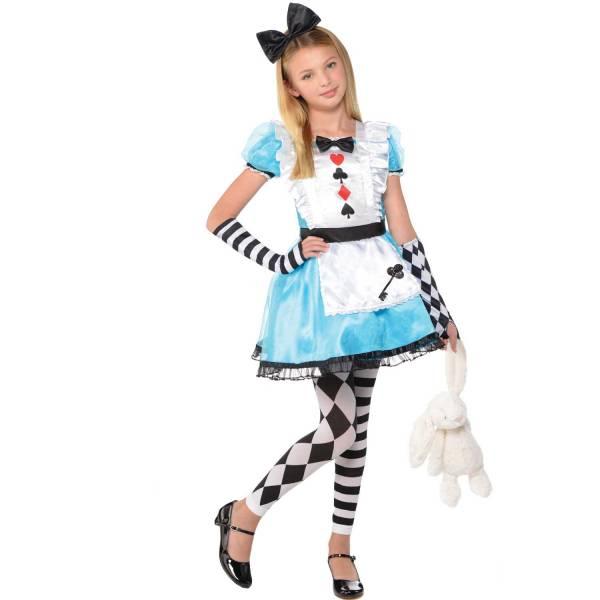 Amscan Detský kostým - Alica Veľkosť - deti: XS