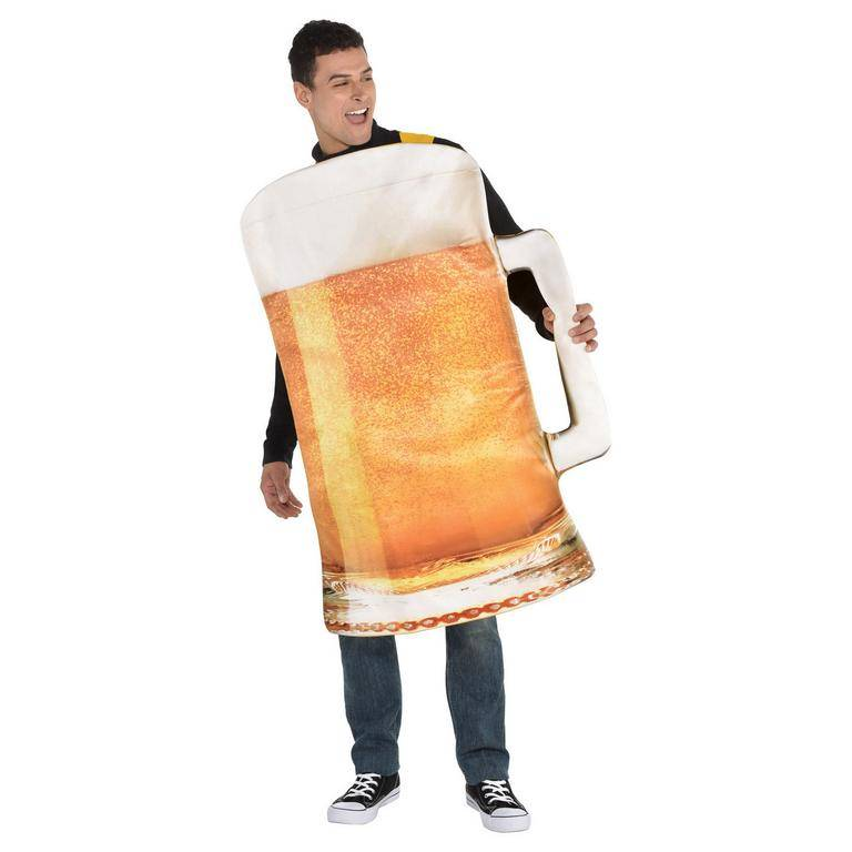 Amscan Pánsky kostým - Pivo Veľkosť - Dospelí: PLUS