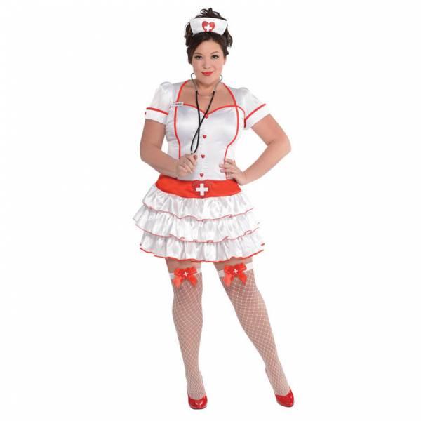 Amscan Dámsky kostým - Sexy sestrička Veľkosť - dospelý: XL
