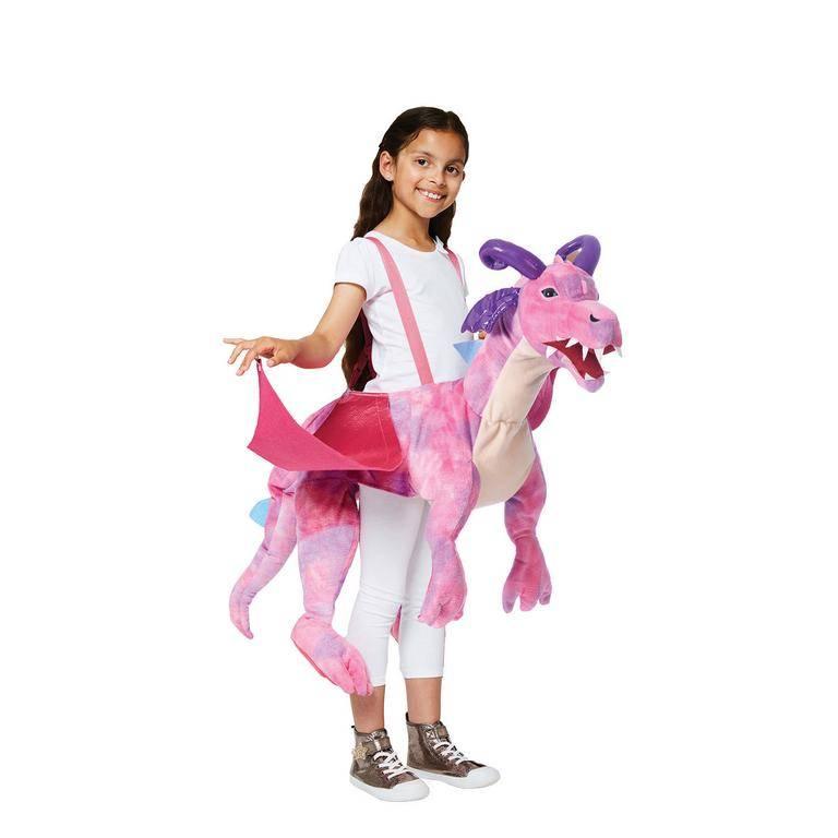 Amscan Detský kostým - Jazdec na ružovom drakovi