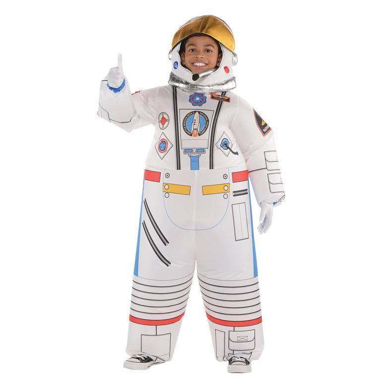Amscan Detský kostým - Nafukovací astronaut