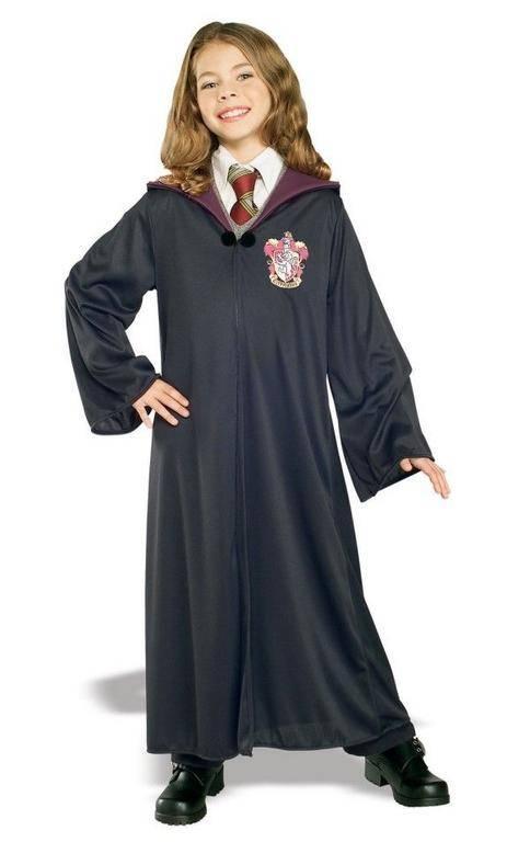 Rubies Detský kostým - Rúcho Gryffindor (Chrabromil) Veľkosť - deti: S