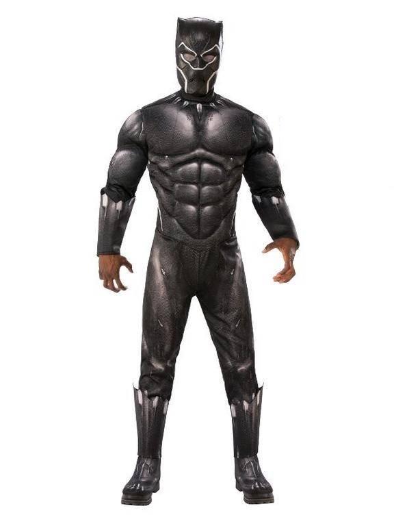 Rubies Pánsky kostým - Čierny Panter (Avengers) Veľkosť - dospelý: STD