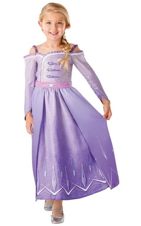 Rubies Detský kostým - Elsine šaty (Frozen) Veľkosť - deti: S