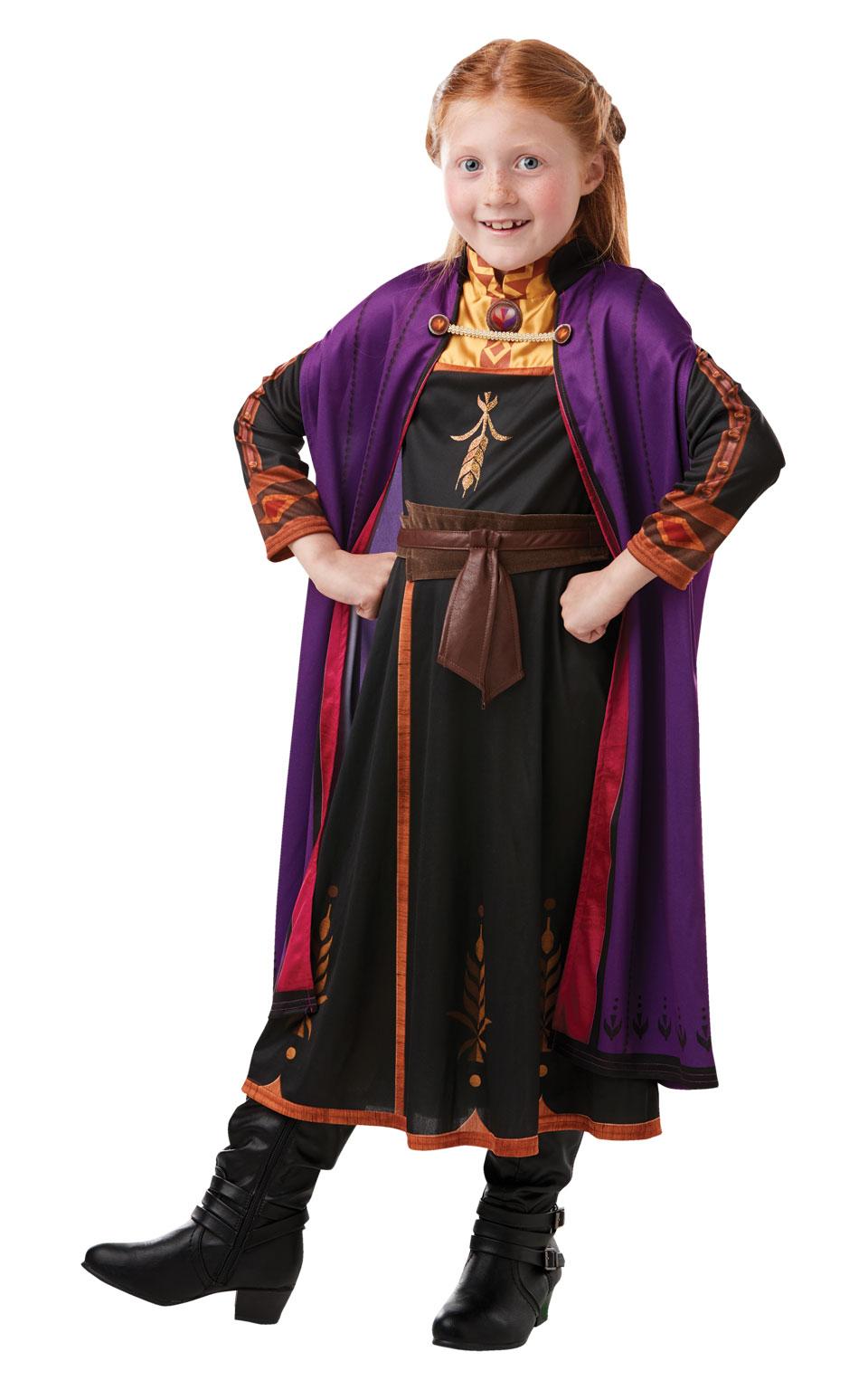 Rubies Detský kostým - Anna (šaty) Veľkosť - deti: XS