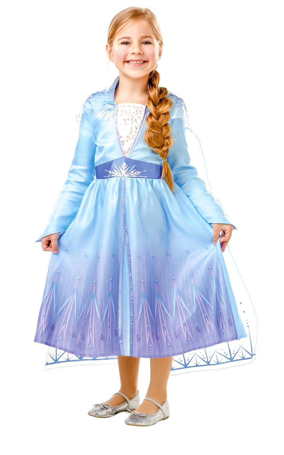 Rubies Detský kostým - Elsa (šaty) Veľkosť - deti: L