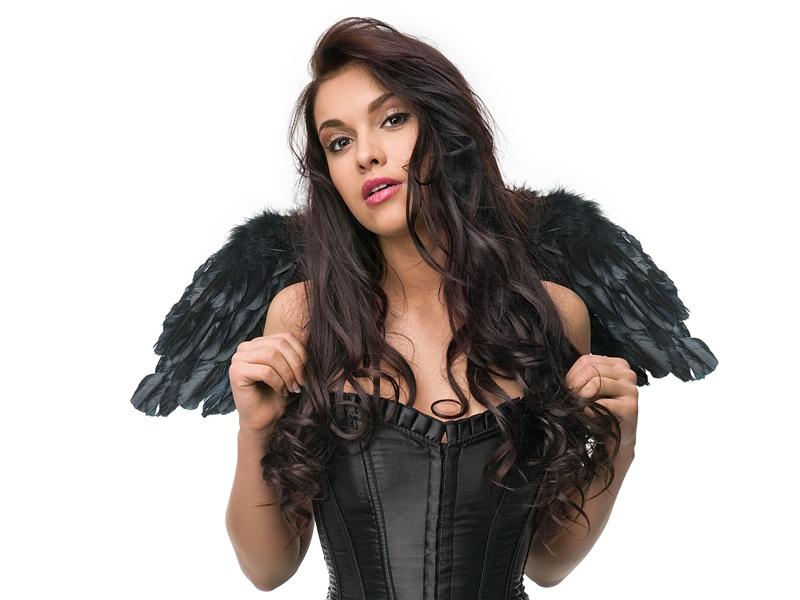 Anjelské krídla - čierne