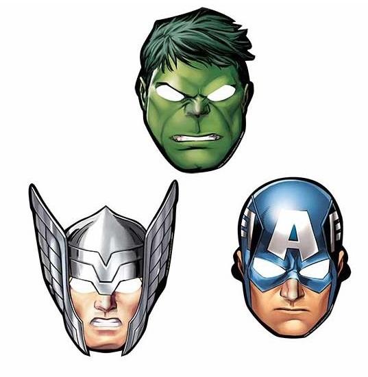 Procos Masky Avengers - 8 ks