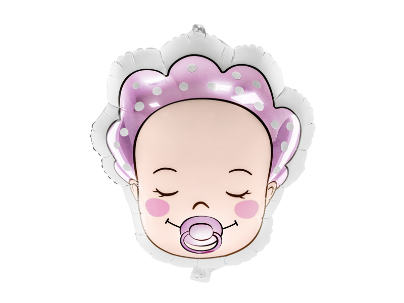 PartyDeco Fóliový balón - Dievčatko 40 x 45 cm
