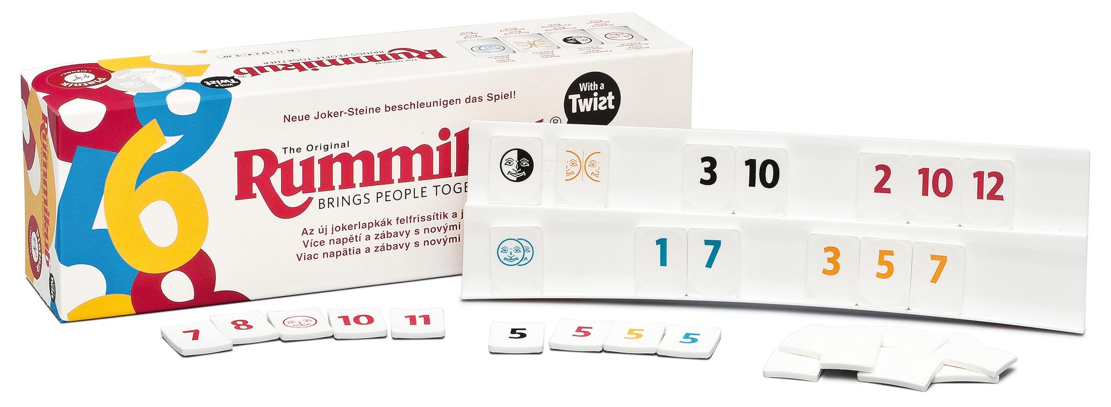 Piatnik Spoločenská hra - Rummikub Twist