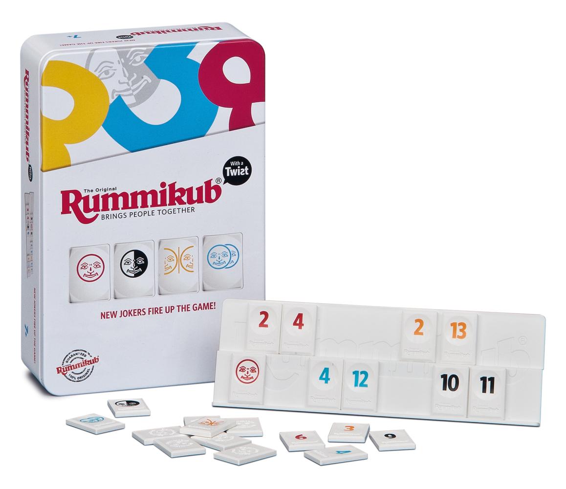 Piatnik Spoločenská hra - Rummikub TWIST MINI