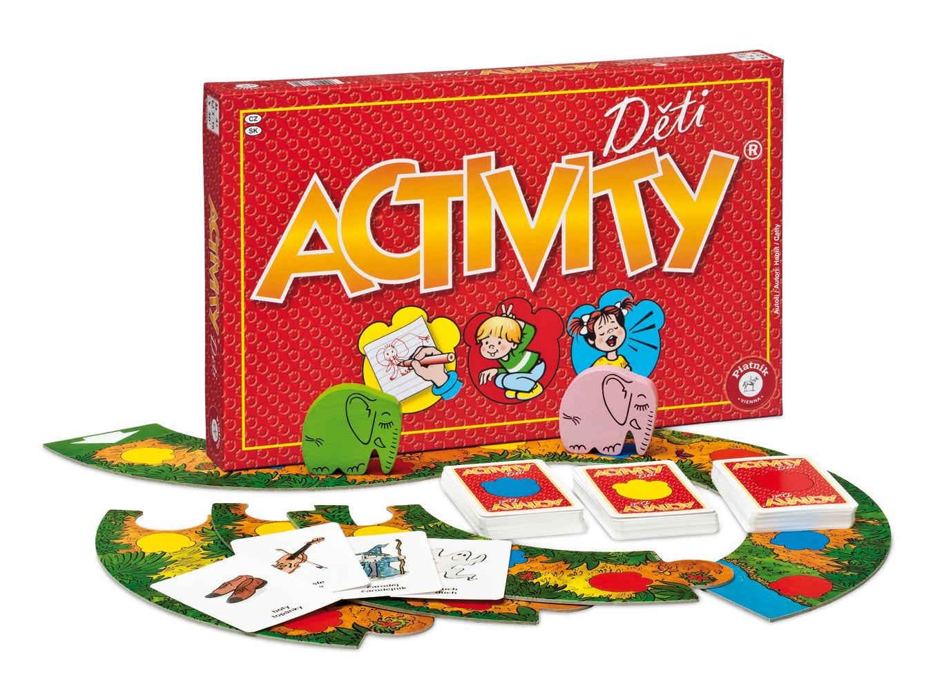 Spoločenská hra - Activity Deti