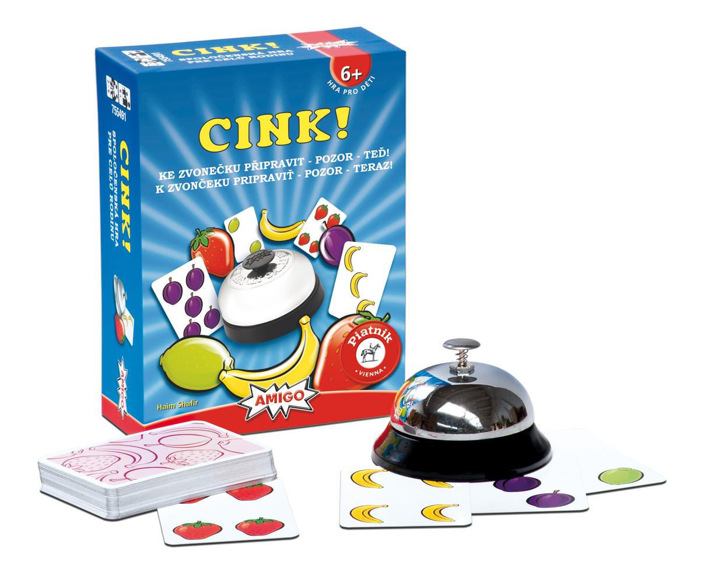 Spoločenská hra - Cink!