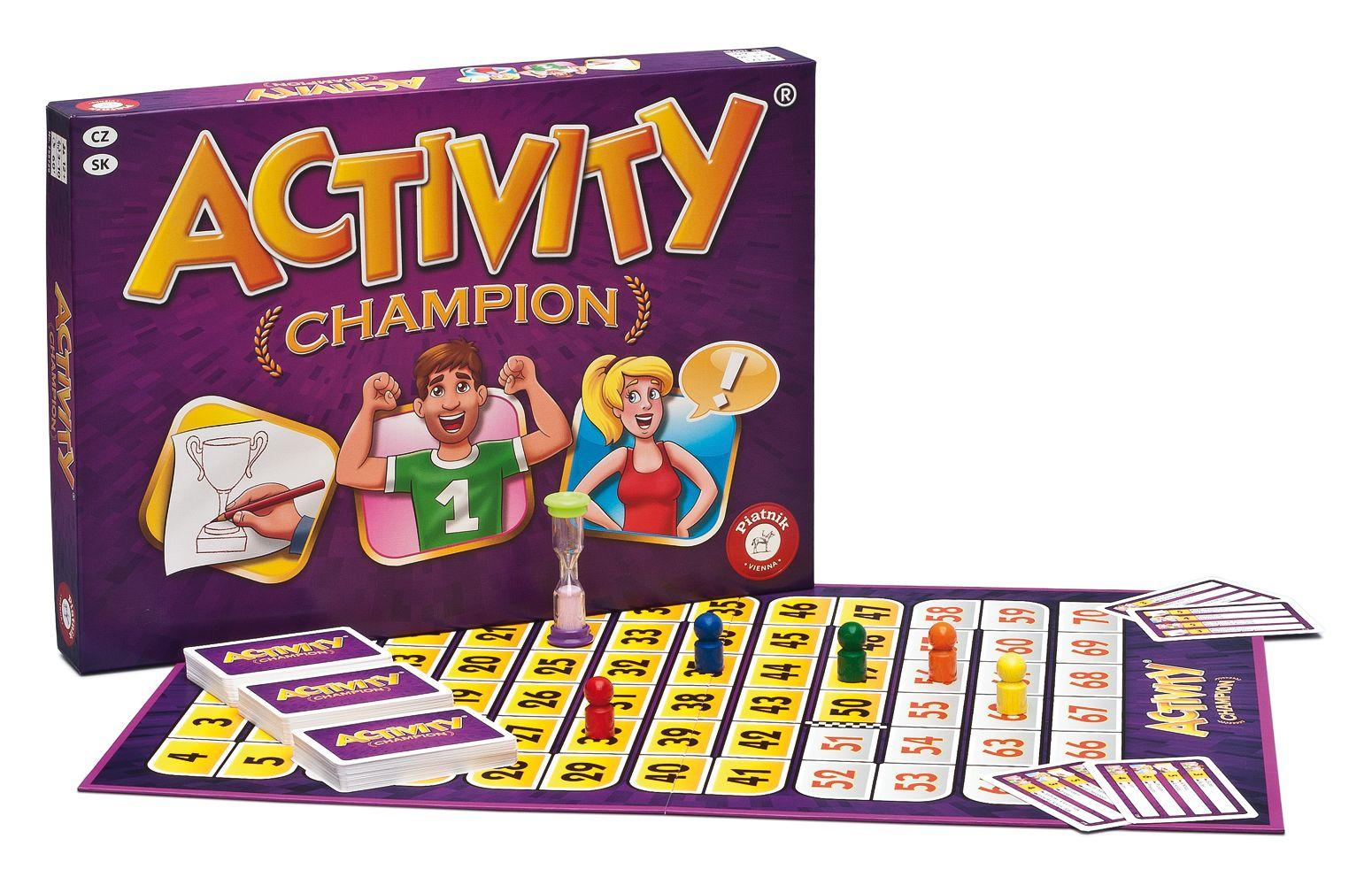 Piatnik Spoločenská hra - Activity CHAMPION