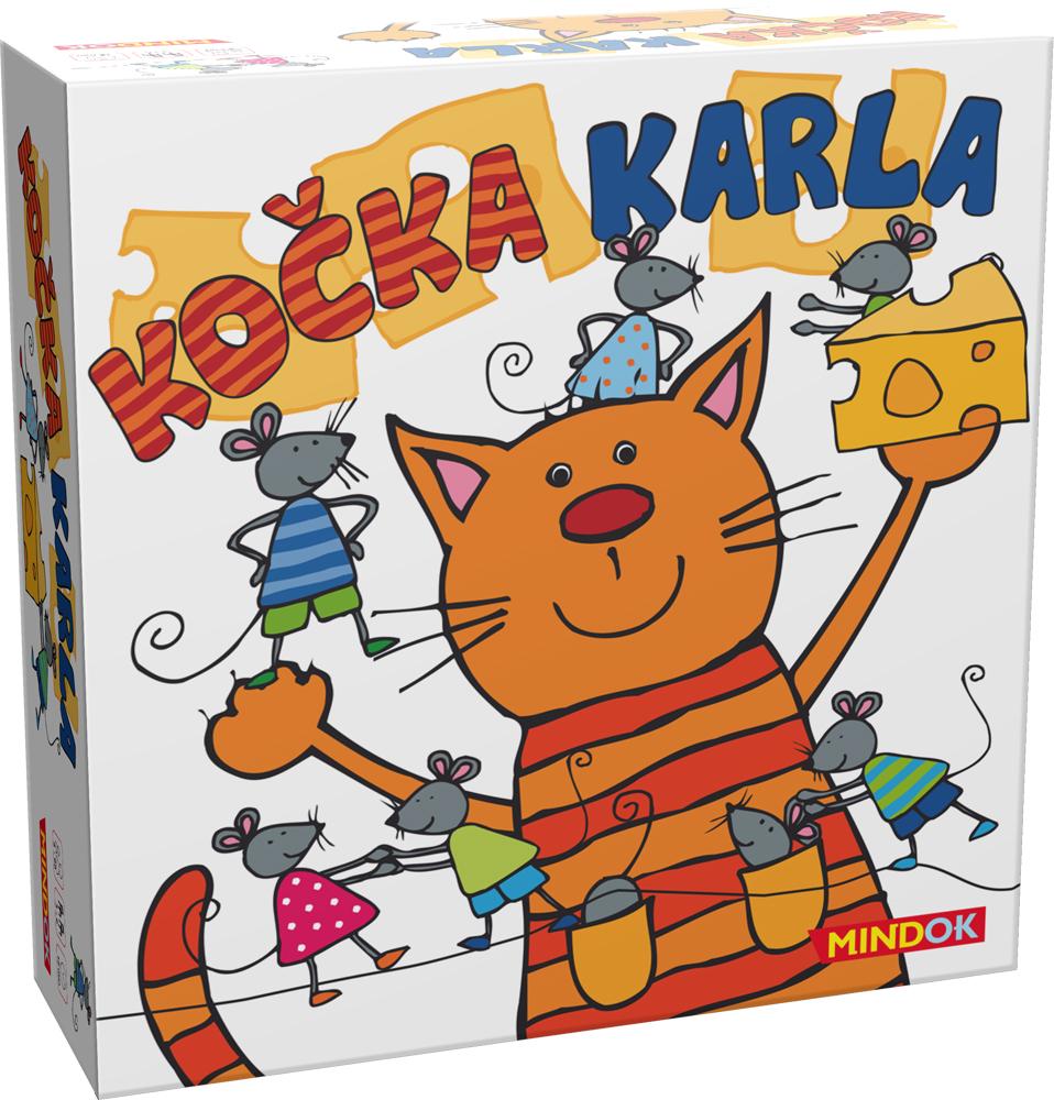 Mindok Spoločenská hra - Kočka Karla