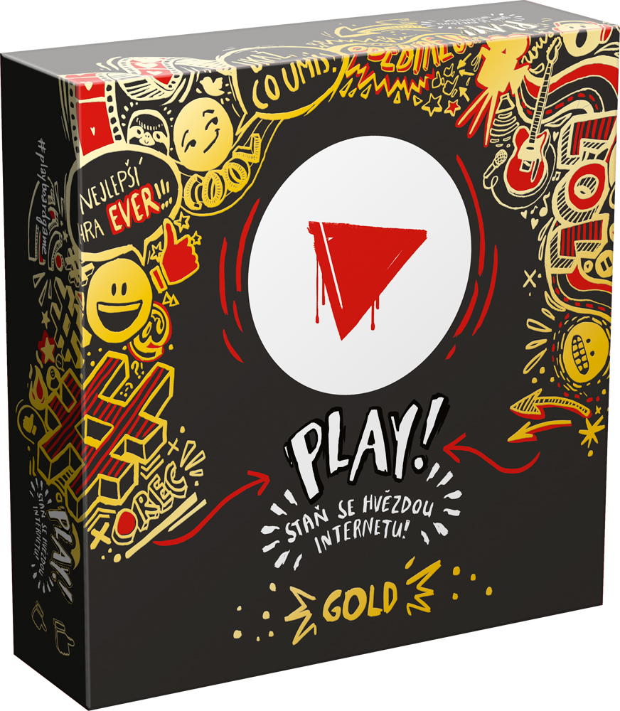Mindok Spoločenská hra - Play! Gold