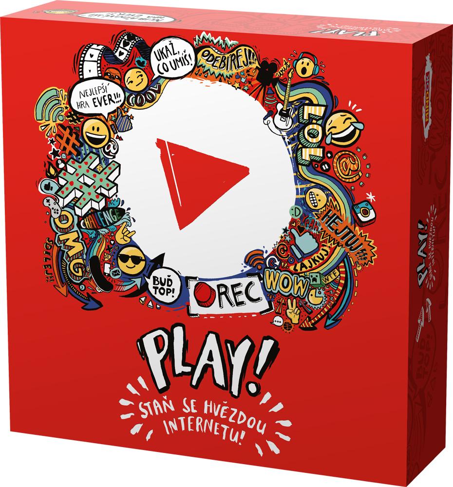 Mindok Spoločenská hra - Play! Staň sa hviezdou internetu