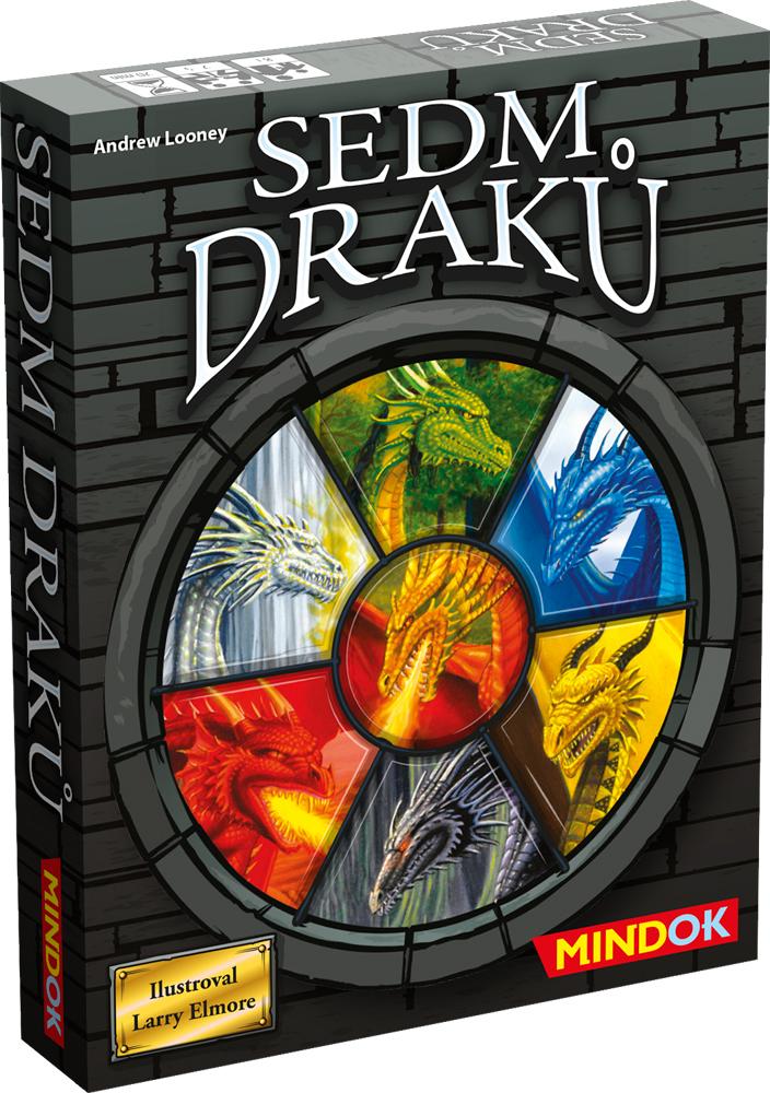 Mindok Spoločenská hra - Sedm draků