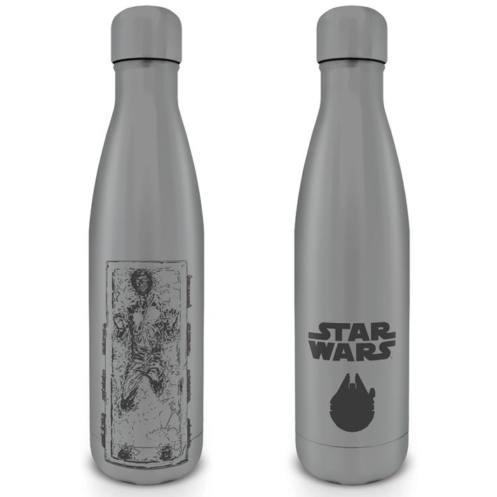 Pyramid Kovová fľaša na nápoj Star Wars (Han Carbonite) 550 ml