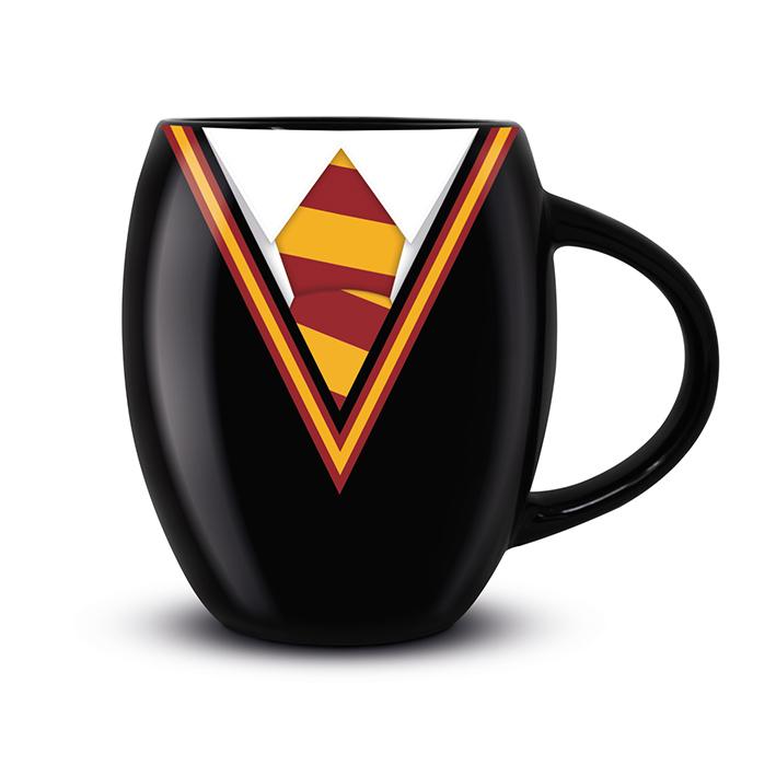 Pyramid Oválny hrnček Harry Potter (Chrabromilská uniforma)