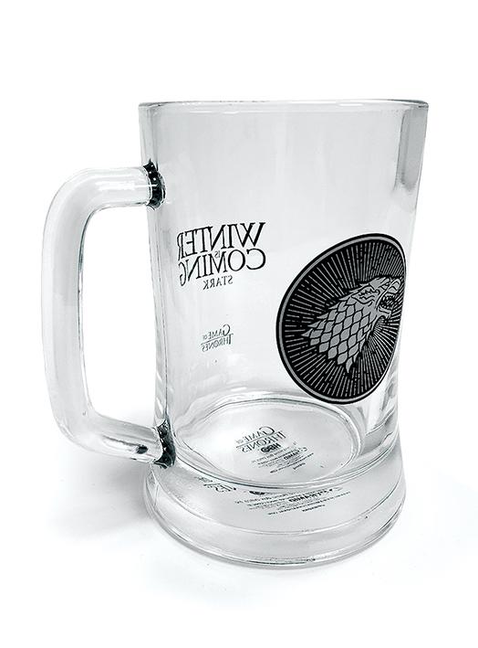 Pyramid Sklenený pohár Hra o tróny (House Stark) 315 ml