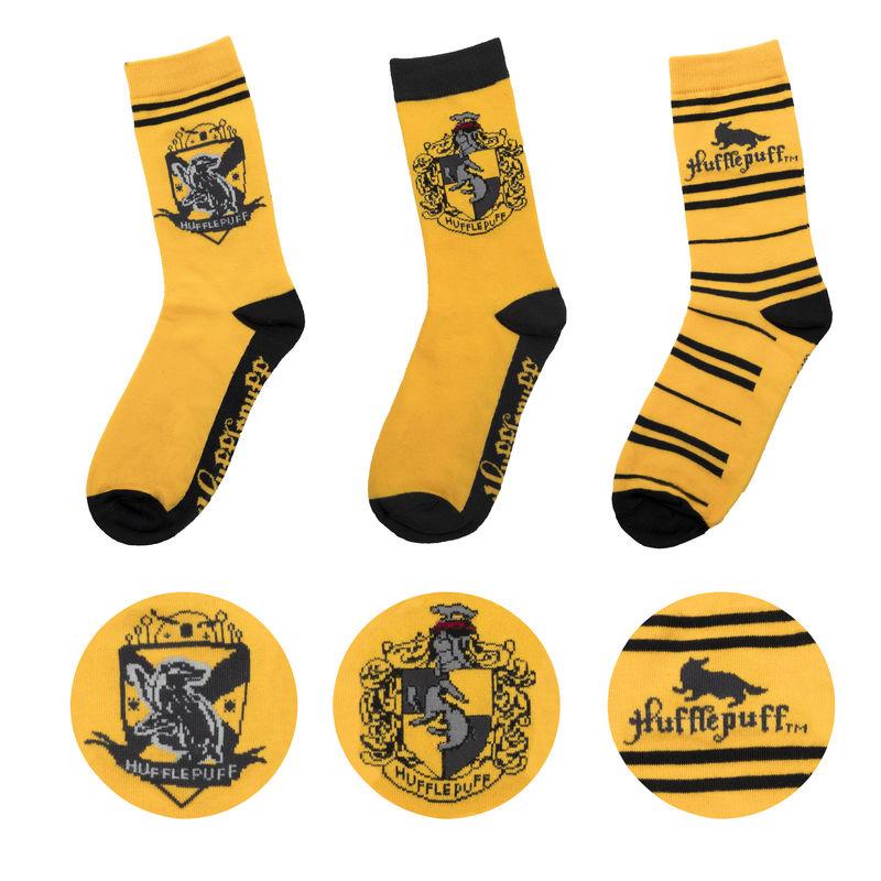 Cinereplicas Sada 3 párov ponožiek Harry Potter - Bifľomor
