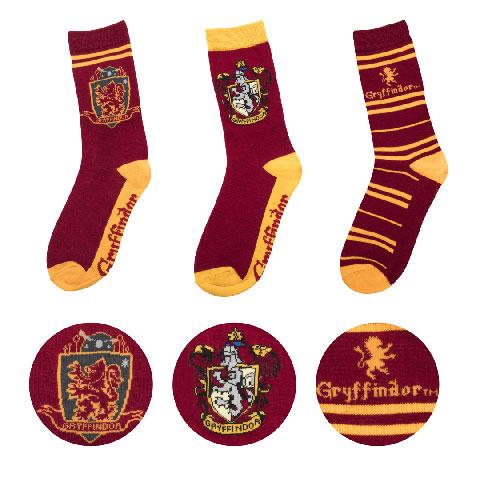 Cinereplicas Sada 3 párov ponožiek Harry Potter - Chrabromil