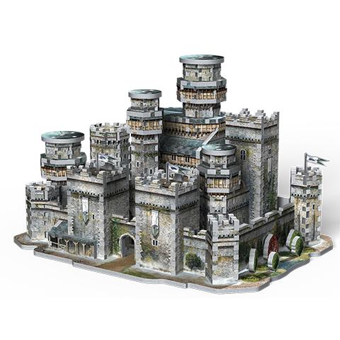 3D Wrebbit Puzzle Hra o tróny - Winterfell
