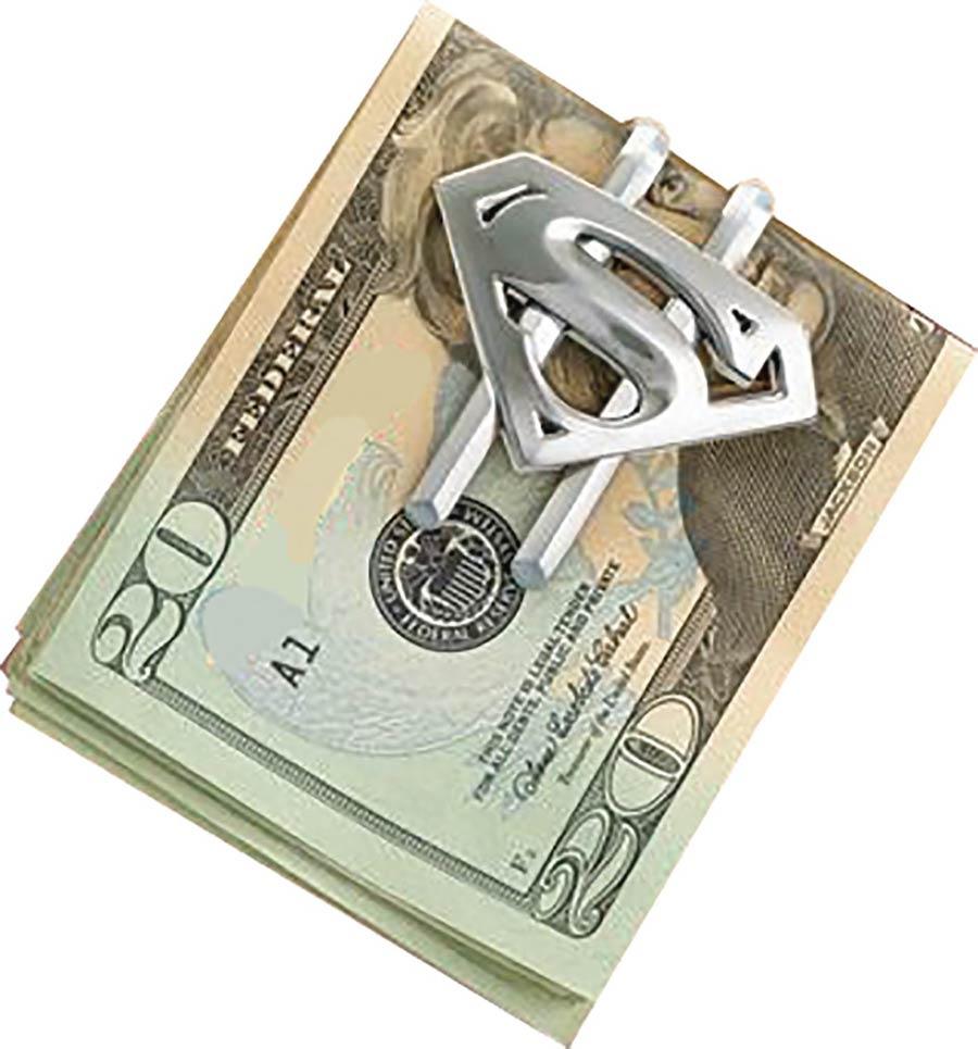 Noble Spona na peniaze - Superman (strieborná)