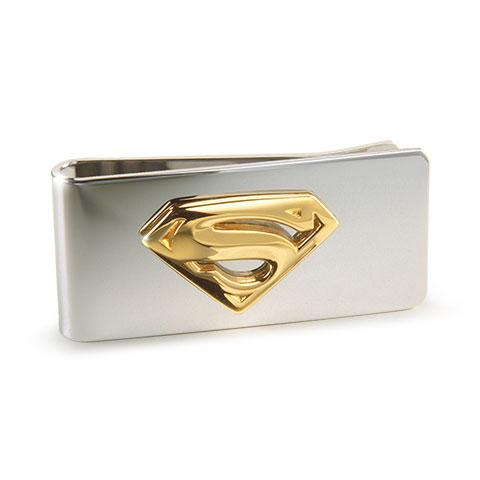 Noble Superman spona na peniaze (pozlátená)