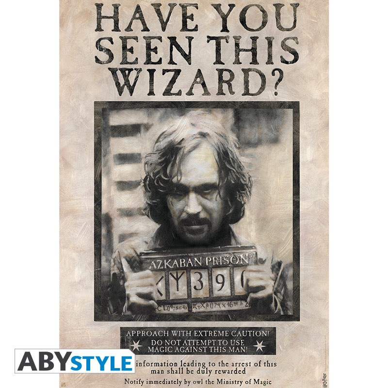 ABY style Plagát Harry Potter - Wanted Sirius Black