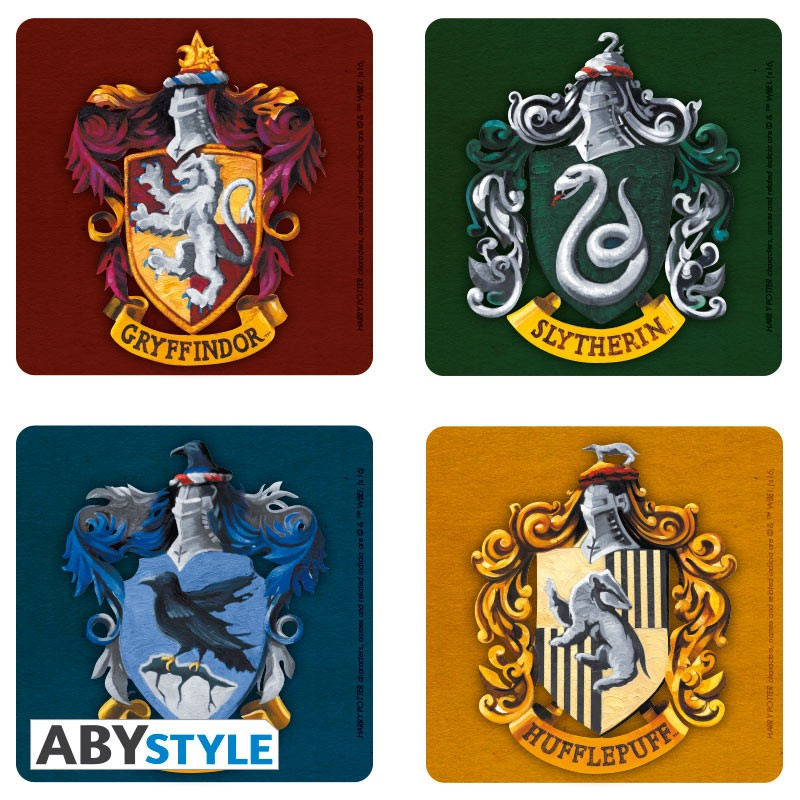 ABY style Podtácky Harry Potter (4 ks)