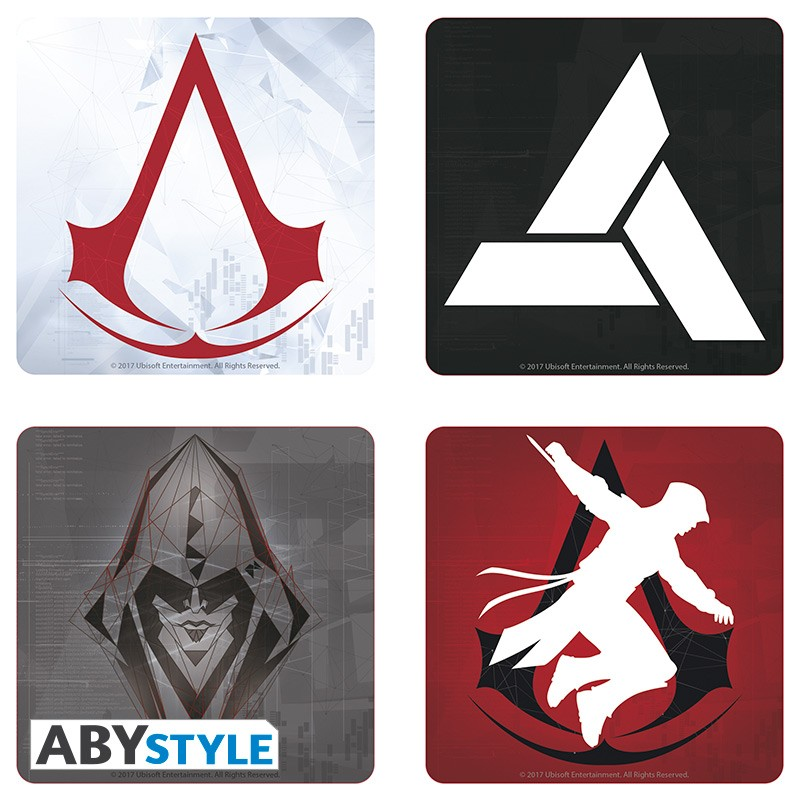 ABY style Podtácky Assassins Creed (4 ks)