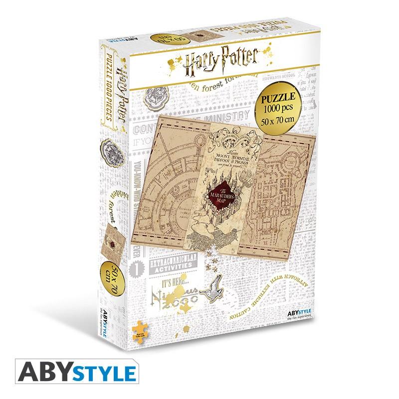 ABY style Puzzle Harry Potter - Záškodnícka mapa