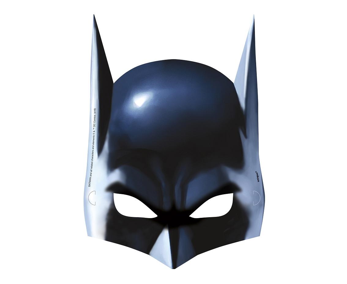 Godan Papierové masky Batman 8 ks