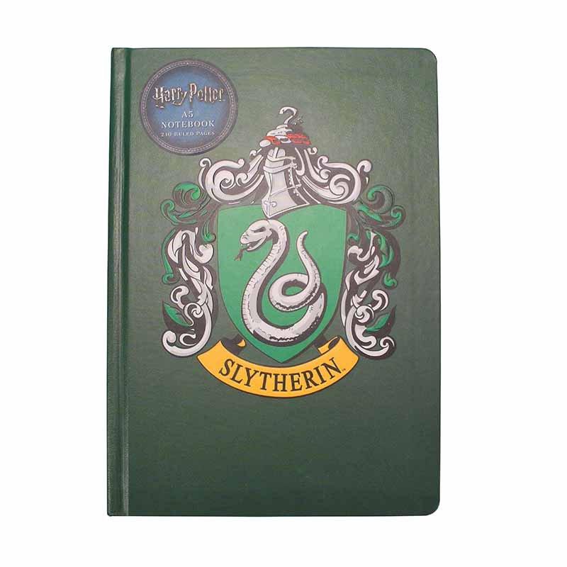 Half Moon Bay Zápisník Harry Potter - Slytherin Crest